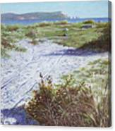 Needles From Hengistbury Head Canvas Print