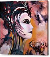 Nefertiti - Act With Modern Elegance Canvas Print