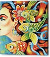 Nefertiti Sea Journey Canvas Print