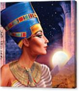 Nefertiti Variant 5 Canvas Print