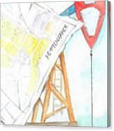 Nefteyugansk Canvas Print