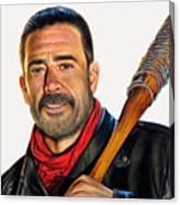 Negan - The Walking Dead Canvas Print