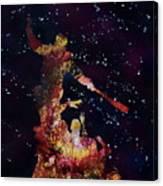 Negan Triumph And Stars Canvas Print