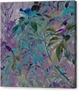 Negative Jungle Canvas Print