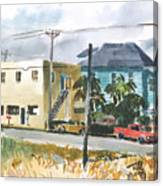 Neighborhood Corner Canvas Print