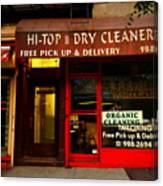 Neighborhood Shop - Dry Cleaners Canvas Print