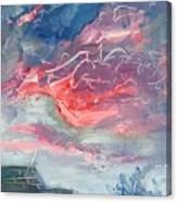 Neighborhood Sunset Canvas Print