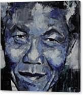 Nelson Mandela Canvas Print
