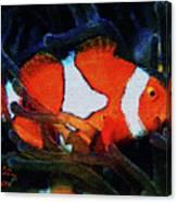 Nemo's Marlin Canvas Print
