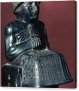 Neo-sumerian Prince Gudea Canvas Print