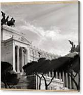 Neoclassical Architecture In Rome Canvas Print