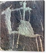 Neolithic Petroglyph Canvas Print