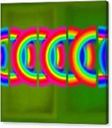 Neon Chain Canvas Print