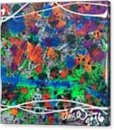 Neon Gumbo Canvas Print