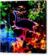 Neon Nature  Canvas Print