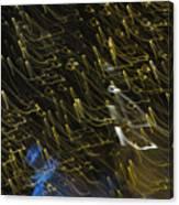 Neon Percussion Canvas Print