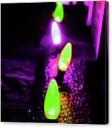 Neon Xlights Canvas Print