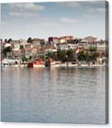 Neos Marmaras Greece Summer Vacation Canvas Print