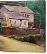 Nepal Canvas Print