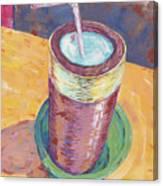 Nepalese Tongba, Jaand Or Millet Beer, Kathmandu, Nepal Canvas Print