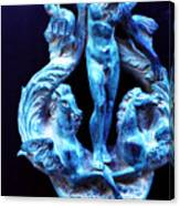 Neptune Door-knocker Canvas Print