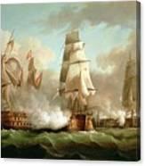 Neptune Engaging Trafalgar Canvas Print