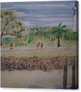 Neptune Park Canvas Print