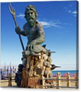 Neptune Virgina Beach  Canvas Print