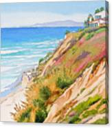 Neptune's View Leucadia California Canvas Print