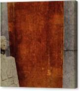 Nero Rustic Sculpture Wall Canvas Print