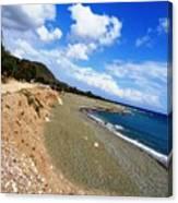 Nestaz Beach Canvas Print
