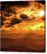 Nested Sun Canvas Print