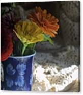 Nestled In  Shadow Canvas Print