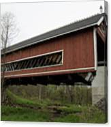 Netcher Road Covered Bridge 2 Canvas Print