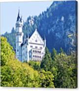 Neuschwanstein Castle 1 Canvas Print