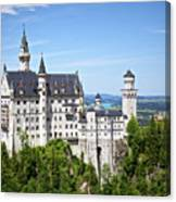 Neuschwanstein Castle Of Germany Canvas Print