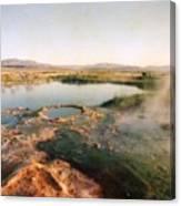 Nevada Hotspring Canvas Print