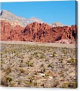 Nevada's Red Rocks Canvas Print