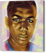 Never Forget Trayvon Canvas Print