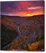 Neverending Autumn Canvas Print