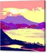Nevis From The Penninsula Canvas Print