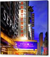 New Amsterdam Theatre Canvas Print