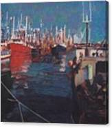 New Bedford Fishing Fleet Canvas Print