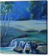 New Braunfels River Scene  Canvas Print