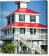 New Canal Lighthouse - Nola Canvas Print