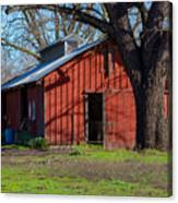 New Clairvaux Abbey Barn Canvas Print