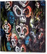 New Dark Canvas Print