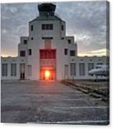 New Dawn For An Old Airport Canvas Print