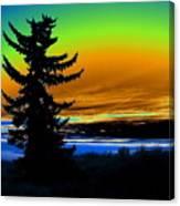 New Dawn In Spokane Canvas Print