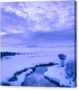 New Day At New Meadows Canvas Print